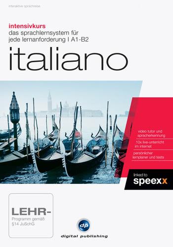 Verpackung von Intensivkurs Italiano [PC-Software]