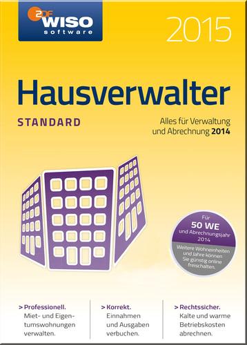 WISO Hausverwalter 2015 Standard
