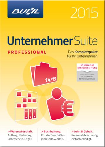 Verpackung von WISO Unternehmer-Suite 2015 Professional [PC-Software]