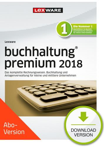 Verpackung von Lexware buchhaltung premium 2018 Download - Abo Version [PC-Software]