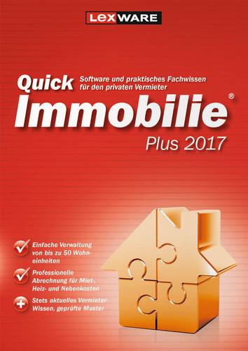 Lexware QuickImmobilie Plus 2017 Jahresversion (365-Tage)