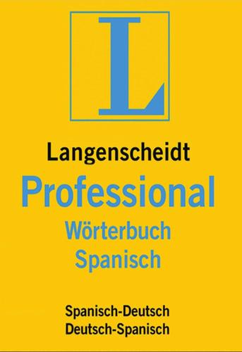 Verpackung von Langenscheidt Professional-Wörterbuch Spanisch [Mac-Software]