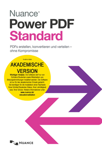 Verpackung von Power PDF Standard Education [PC-Software]