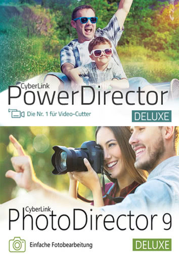 Verpackung von PowerDirector 16 Deluxe & PhotoDirector 9 Deluxe Duo [PC-Software]