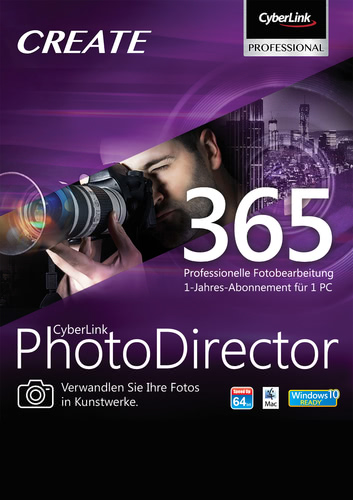 PhotoDirector 365 12 Monate (Download), PC