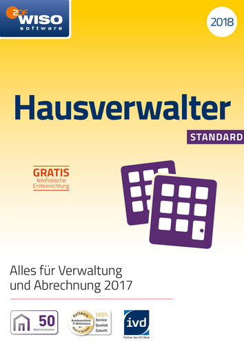 WISO Hausverwalter 2018 Standard, ESD (Download...