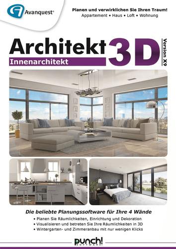 Verpackung von Architekt 3D X9 Innenarchitekt [PC-Software]
