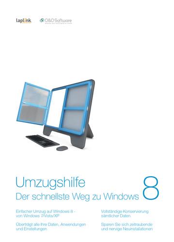 Verpackung von Umzugshilfe für Windows 8 3 PC [PC-Software]