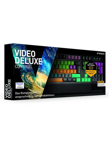 Verpackung von Magix Video deluxe Control 2017 [PC-Software]