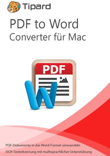 Verpackung von Tipard PDF to Word Converter für Mac - lebenslange Lizenz [Mac-Software]