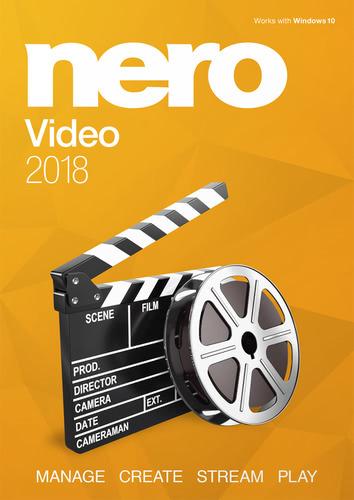 Verpackung von Nero Video 2018 [PC-Software]
