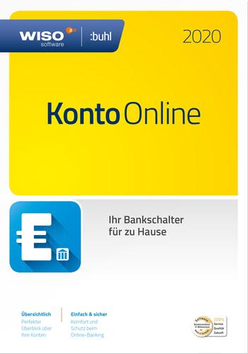 Verpackung von WISO Konto Online (Version 2020) [PC-Software]