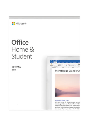 Microsoft Office Home & Student 2019 (Download), Multi