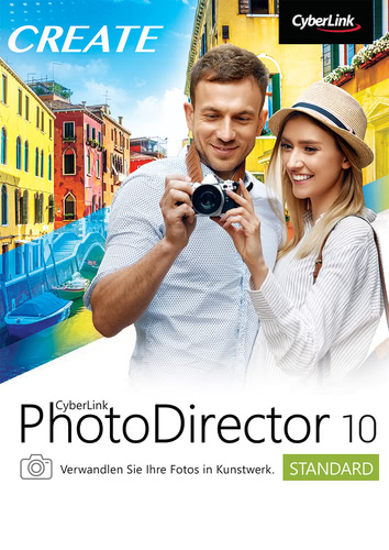 PhotoDirector 10 Standard (Download), PC