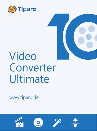 Verpackung von Tipard Video Converter Ultimate - lebenslange Lizenz [PC-Software]