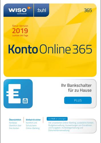 WISO Konto Online Plus 365 Tage (Version 2019),...