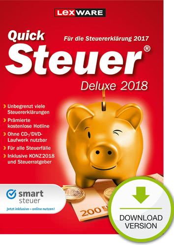 Lexware QuickSteuer Deluxe 2018