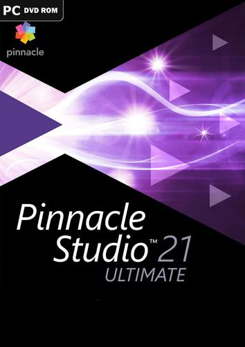 Verpackung von Corel Pinnacle Studio 21 Ultimate [PC-Software]