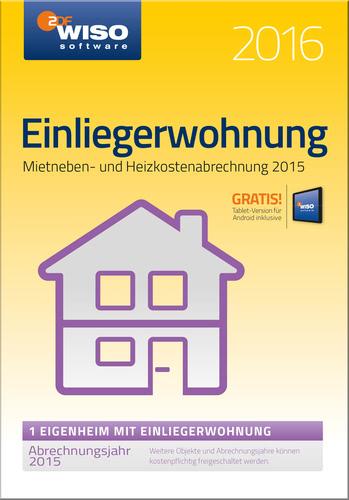 WISO Einliegerwohnung 2016, ESD (Download) (PC)