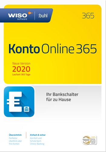 Verpackung von WISO Konto Online 2020 (Jahresversion 365-Tage) [PC-Software]