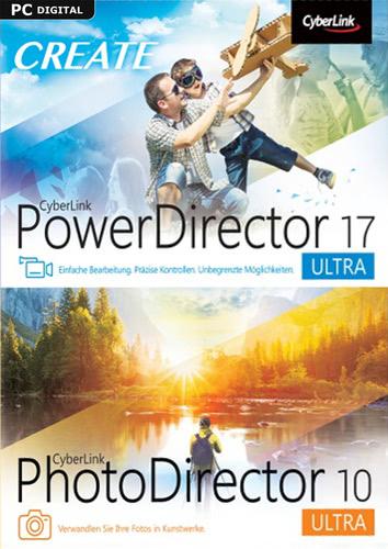Verpackung von PowerDirector 17 Ultra & PhotoDirector 10 Ultra Duo [PC-Software]