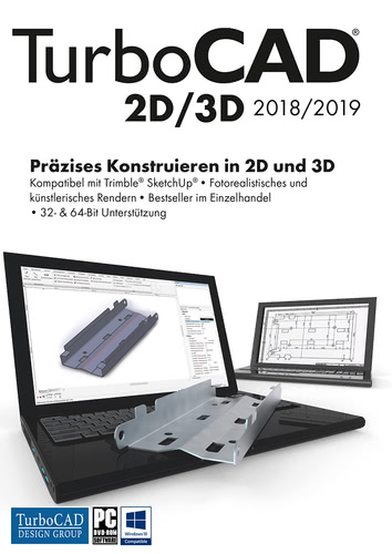 TurboCAD 2D/3D 2018 (Download), PC