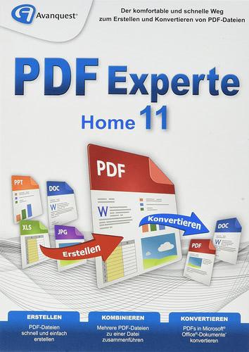 Verpackung von PDF Experte 11 Home [PC-Software]