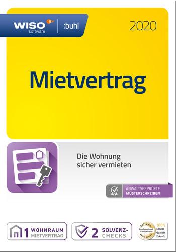 Verpackung von WISO Mietvertrag 2020 [PC-Software]