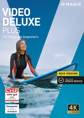 Verpackung von Video Deluxe 2020 Plus [PC-Software]