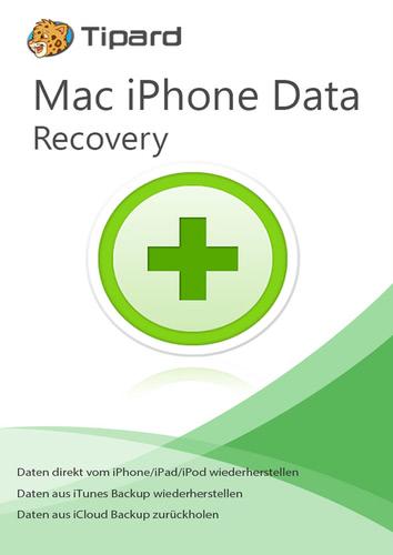 Verpackung von iPhone Data Recovery - lebenslange Lizenz [Mac-Software]