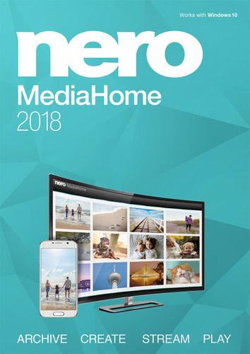Verpackung von Nero MediaHome 2018 [PC-Software]