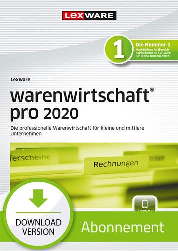 Verpackung von Lexware warenwirtschaft pro 2020 - Abo-Version [PC-Software]