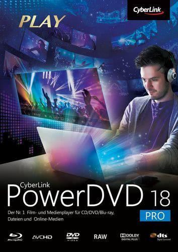 Verpackung von PowerDVD 18 Pro [PC-Software]