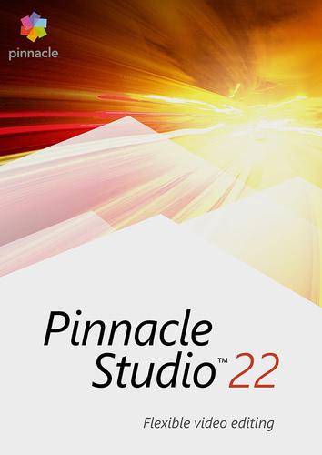 Verpackung von Pinnacle Studio 22 Standard [PC-Software]