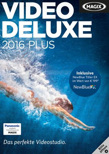 Verpackung von Magix Video deluxe 2016 Plus [PC-Software]