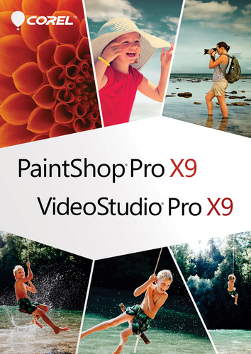 Packaging by Corel Photo Video Bundle X9 - Your complete photo video editor [PC-software]