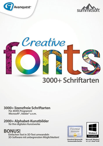 Creative Fonts 5, ESD (Download) (PC)
