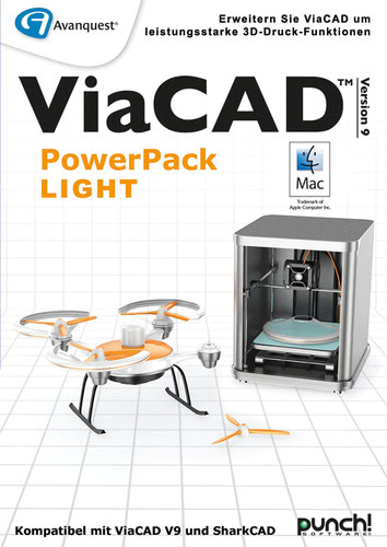 Verpackung von Avanquest ViaCAD PowerPack LIGHT (Mac) [Mac-Software]