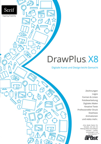 Verpackung von DrawPlus X8 [PC-Software]