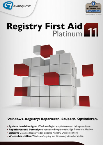 Registry First Aid 11 Platinum (Download), PC