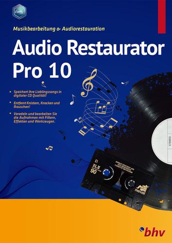 Verpackung von Audio Restaurator Pro 10 [PC-Software]
