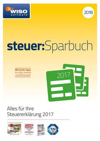 Verpackung von WISO steuer:Sparbuch 2018 [PC-Software]