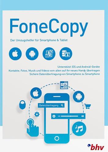 Verpackung von FoneCopy [PC-Software]