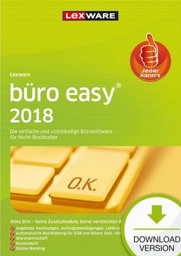 Verpackung von Lexware büro easy 2018 Jahresversion 365-Tage [PC-Software]