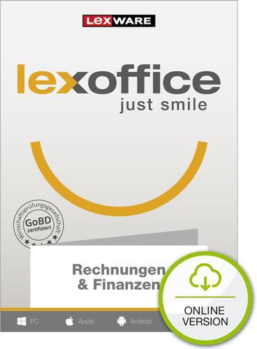 Verpackung von Lexoffice Rechnung + Finanzen - 1 Jahreslizenz [PC-Software]