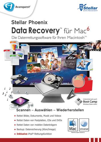 Verpackung von Stellar Phoenix Data Recovery 6 [Mac-Software]