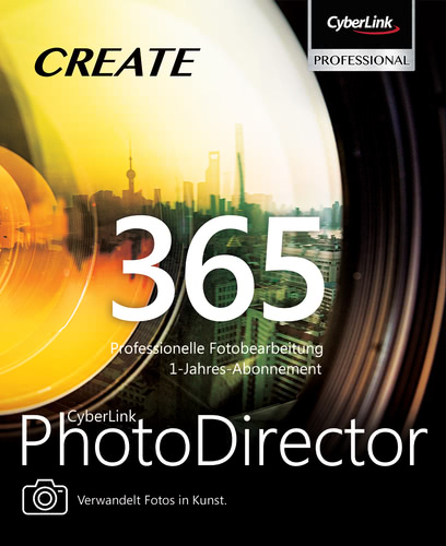 Verpackung von PhotoDirector 365 (12 Monate) [PC-Software]
