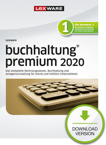 Verpackung von Lexware buchhaltung 2020 premium - Jahresversion (365 Tage) [PC-Software]