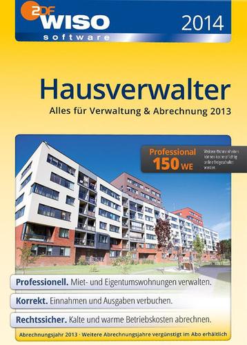 Verpackung von WISO Hausverwalter 2014 Professional [PC-Software]