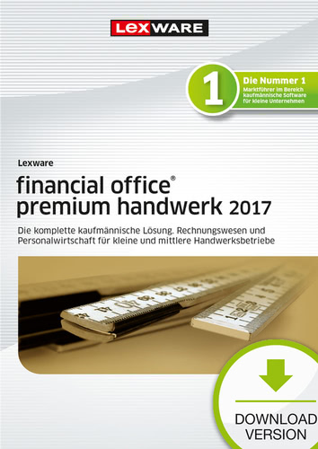 Lexware financial office premium handwerk 2017 Jahresversion (365-Tage)